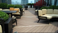 wpc outdoor pool decking