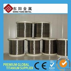 GR5 ASTM B863 titanium wire