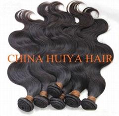 High quality remy virgin human hair weft