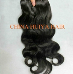Chinese human hair weft