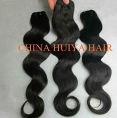 High quality human hair weft