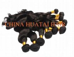 High quality Brazilian remy human hair weft