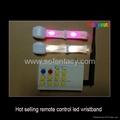 remote control led wristband