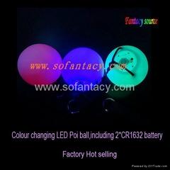 led light up poi ball
