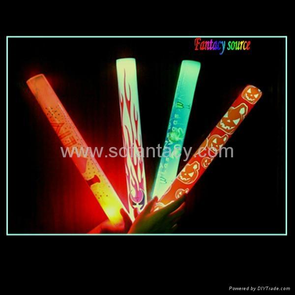 led glow foam stick with CE 1