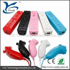 For WII remote controller and nunchuk combo