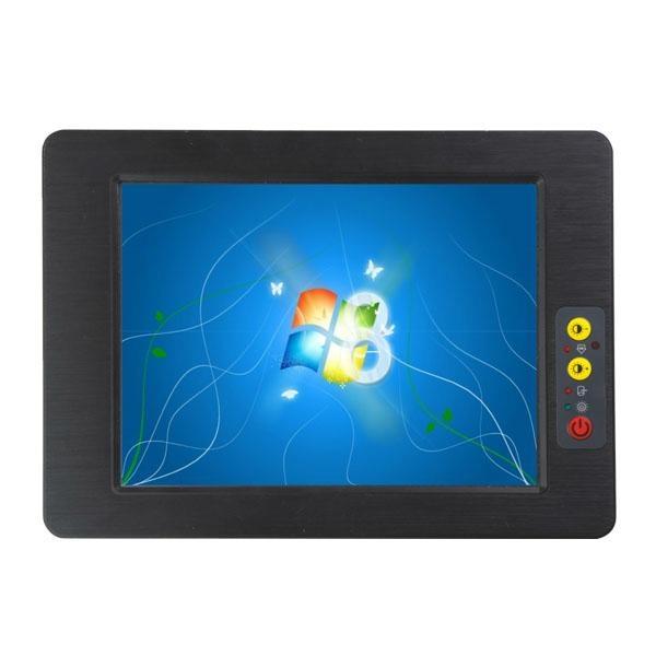 Industrial Panel PC computer  multi touch screen  fanless mini PC (PPC-084C) 1