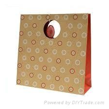Paper gift handbag box
