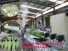 latex insole machine
