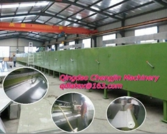 latex shoe material making machine