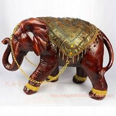 Resin Elephant Decoration Resin Elephant Craft Resin Thailand Elephant Figure