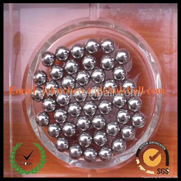 0.5-50.8mm grinding stainless steel ball AISI201 2