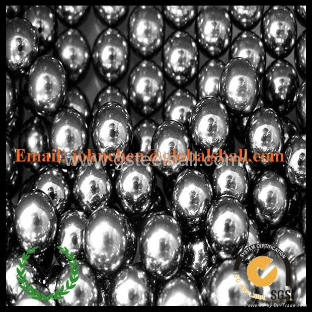0.5-50.8mm grinding stainless steel ball AISI201 3