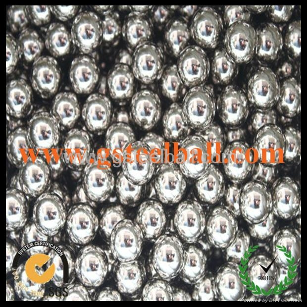 0.5-50.8mm grinding stainless steel ball AISI201 4