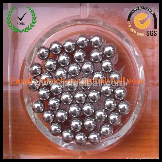 China manufacture of AISI201/SUS201 stainless steel ball 4