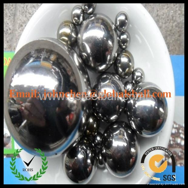 """21/32"""" 11/16"""" stainless steel ball 4"""