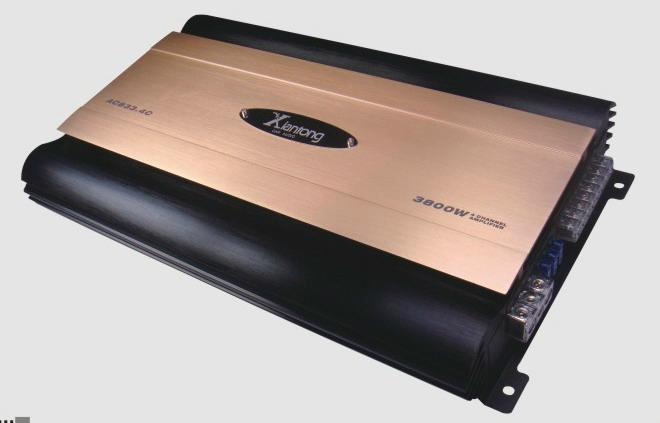 Class D 4 channel Car Amplifier AC833.4A 1