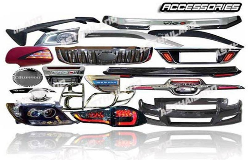 car accessories thailand manufacturer car exterior