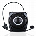 Portable audio amplifier belt amplifier