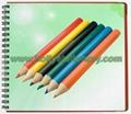 mini wooden hb pencil 4
