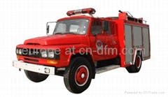 Dongfeng 4x2 truck new 140 HP fire truck