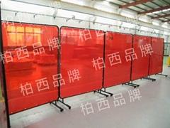 防电焊光隔离屏风