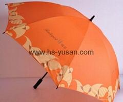 碰击布直杆伞