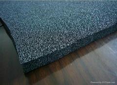 Aluminum foil clad NBR/PVC foam insulation sheet