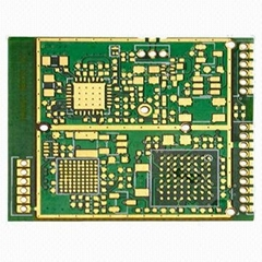 Multi-layered PCB with Immersion Gold