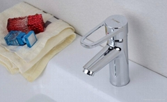 Brass Single Hole Basin Faucet