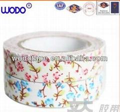 Flower DIY decorative fabric tape