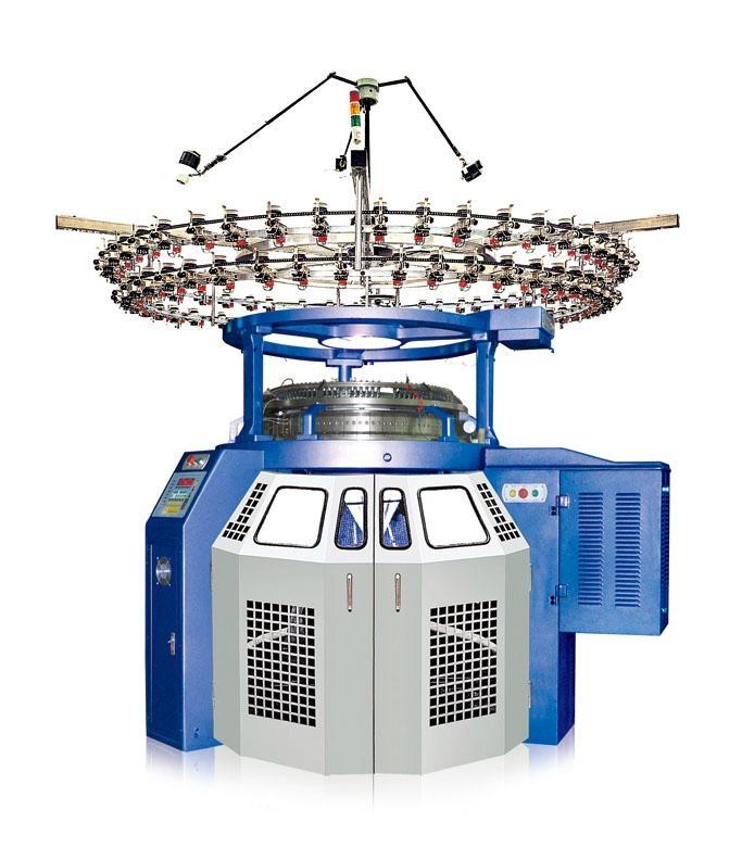Circular Knitting Machine : High Speed Single Jersey Circular Knitting Machine - BYS/HDS - BY/HD (China M...