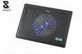 One fan black laptop cooler 2