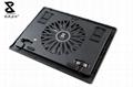 One fan black laptop cooler 3