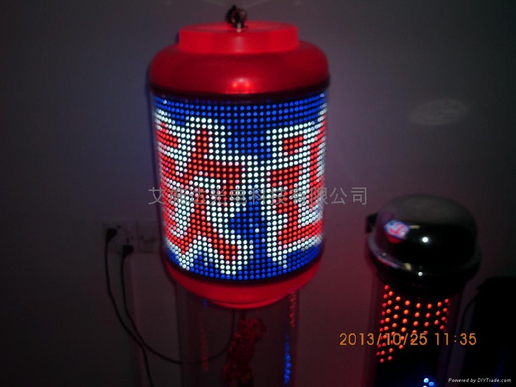 圓柱LED柔性顯示屏 1
