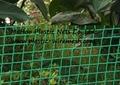 plastic garden fence net&mesh  plastic