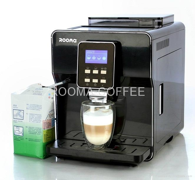 ONE TOUCH FULLY AUTOMATIC COFFEE MACHINE - RM-A6 - ROOMA (China Manufacturer) - Coffee Maker ...