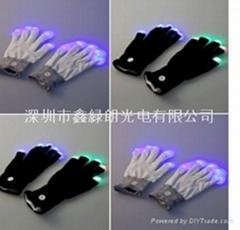 LED发光手套