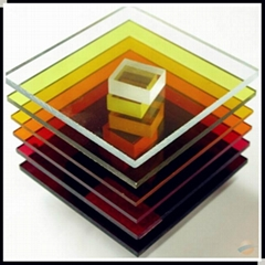 thick colors cast acrylic sheet