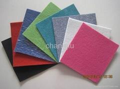 polyester plain exhibition non woven carpet