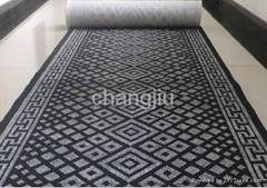 polyester double 2 color jacquard carpet