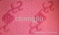 polyester velour jacquard carpet mats