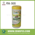 100% COTTON All Purpose natural Wipes