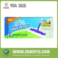 Wet Mopping Cloths And room Floor