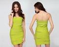 2013 newest sexy Strapless bandage dress