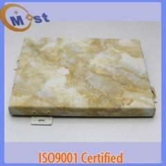 aluminum composite panel with stone veneer