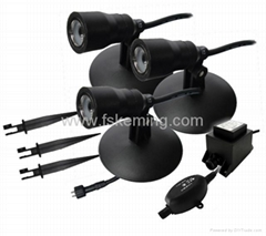 1W Waterproof LED Spotlight Kit