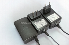 12V 2A wall ount power adapter