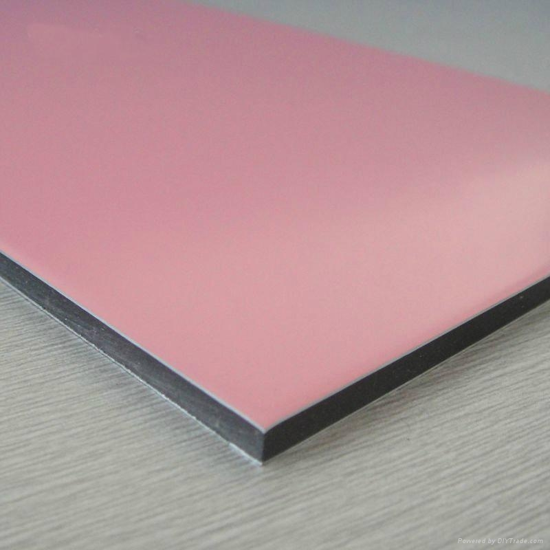 3mm interior decorative wall panels aluminum composite for Aluminium composite panel interior decoration