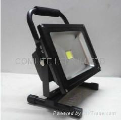 30w portable rechargeable LED flood light